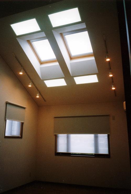 子息の部屋の天井